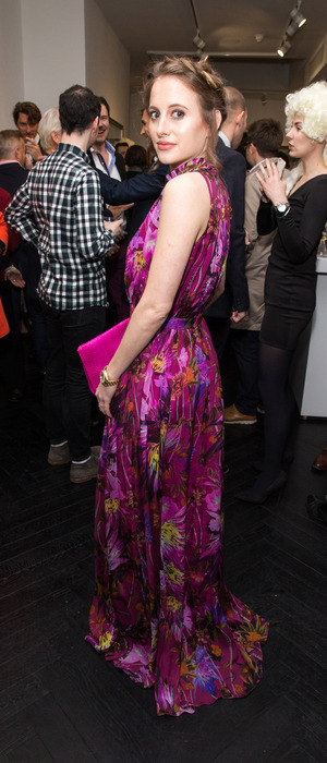 Made In Chelsea star Rosie Fortescue attends the Tyler Shields Decadence event in London, 4th February 2016