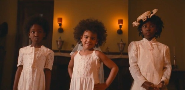 Beyonce in new video Formation, released on 7 February 2016.