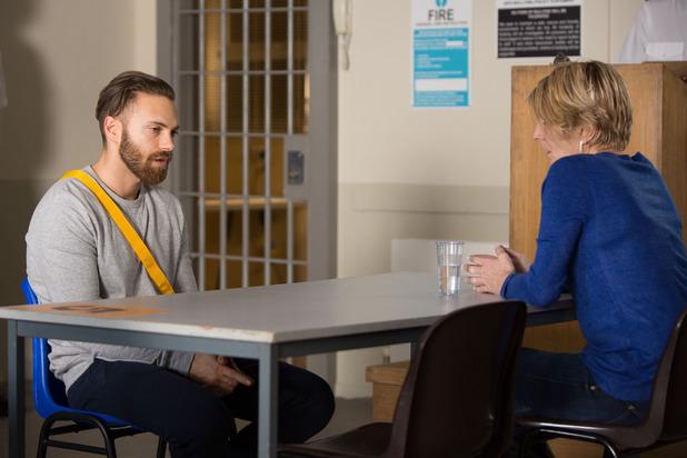 EastEnders, Shirley visits Dean, Thu 4 Feb