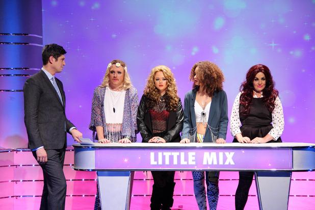 The Keith Lemon Sketch Show, Little Mix, Thu 4 Feb