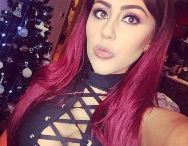 Sophie Kasaei selfie, Instagram January