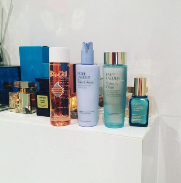 Lauren Goodger reveals her nighttime beauty essentials, 2 February 2016