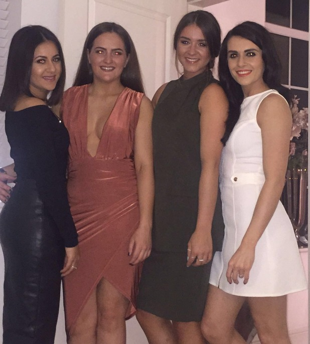 Brooke Vincent Blog: Brooke with friends on night out 4 February