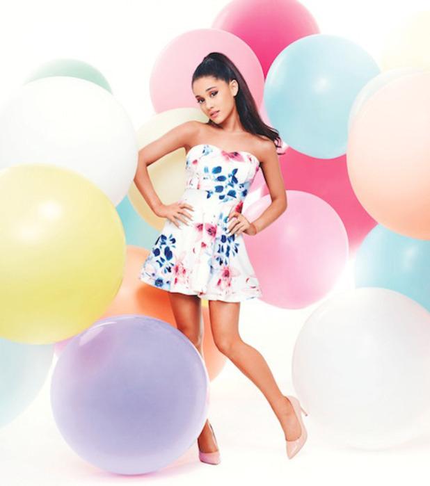Lipsy choose Ariana Grande as their new fashion ambassador, 3rd February 2016