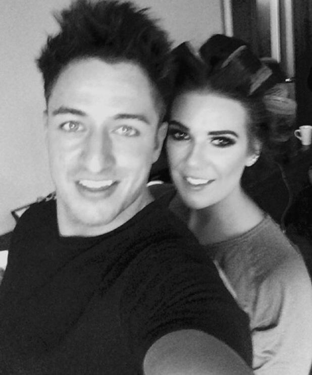 Imogen Townley and Deano Bailey selfie, Instagram 31 January