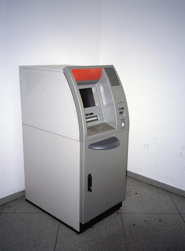 Jamie Keegan and Marc Shelton stole an empty cash machine
