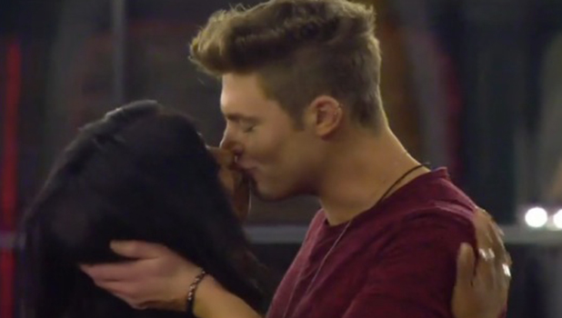 CBB Day 26: Tiffany kisses Scotty at Gemma's birthday party