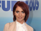 Get the look! Amy Childs is chic in tailoring at West End screening