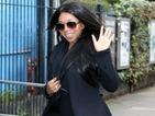 CBB's Tiffany Pollard smiles for the cameras as she arrives at ITV studios