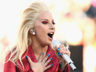 Lady Gaga dazzles in glitter for National Anthem Super Bowl 50 performance