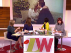 Loose Women debate whether Sam Faiers' boyfriend kissing his mum was weird or not