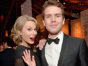Taylor Swift's brother Austin isn't happy after Kanye raps about sex with the singer