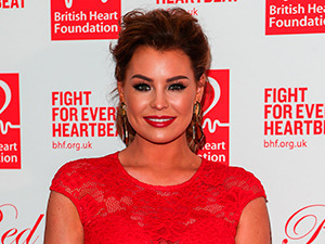 British Heart Foundation Roll Out The Red Ball Jessica Wright