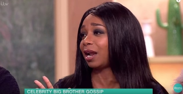 Tiffany Pollard appears on ITV's This Morning 8 February