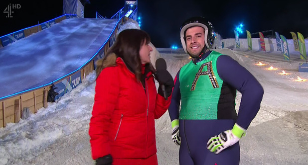 James Arg Argent eliminated from The Jump 7 February