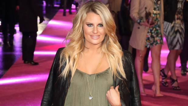 TOWIE's Danielle Armstrong attends the How To Be Single premiere in London, 10th February 2016