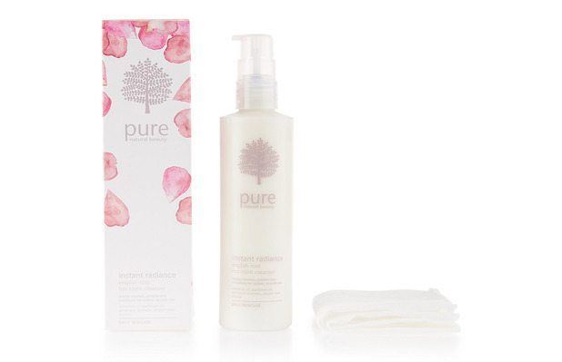 Pure Rose Hot Cloth Cleanser £12, 8th February 2016