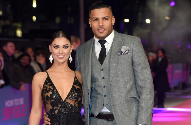 Cally Jane Beech and Luis Morrison attend the premiere of How To Be Single, London 9 February