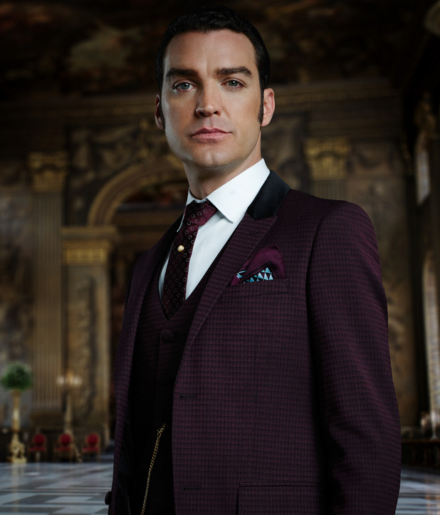 Jake Maskall plays King Cyrus in The Royals - season two, 10th February 2016