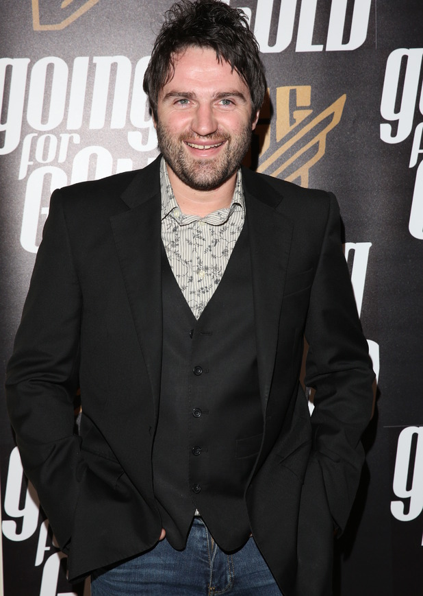 George Gilbey attends Rachel Christie's Going For Gold launch, London 19 January