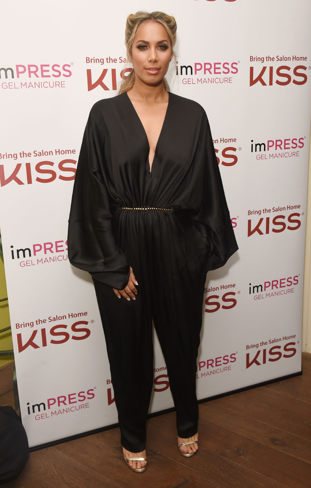 Leona Lewis launches KISS beauty products in the UK, London 10th February 2016