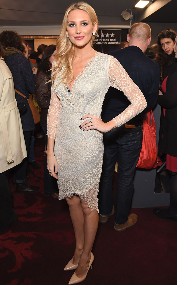Made In Chelsea's Stephanie Pratt attends the Cirque Beserk! evening in London, 10th February 2016