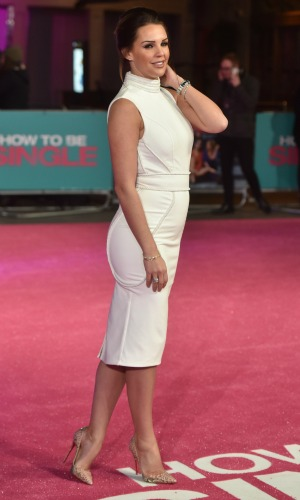 'How To Be Single' European Premiere at the Vue West End, Leicester Square, London Danielle Lloyd