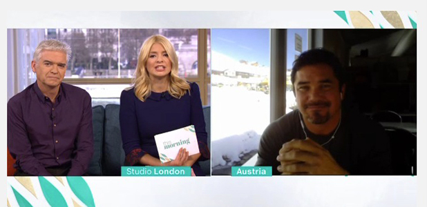 This Morning: Dean Cain talks about The Jump 11 February 2016