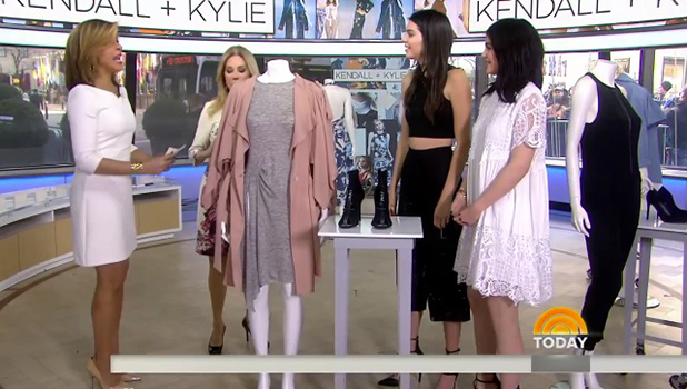 The Today Show', New York, America - 11 Feb 2016 Kylie Jenner and Kendall Jenner
