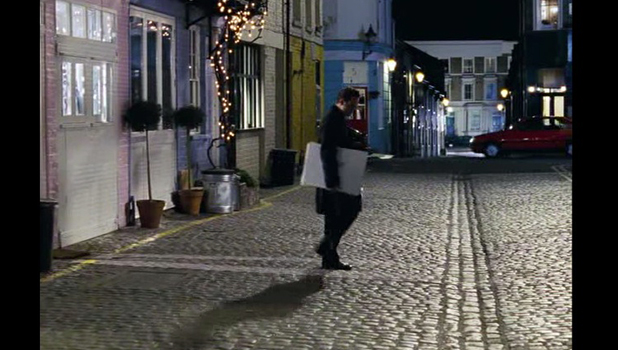 Love ACTUALLY: PETER AND JULIET SCENE