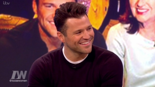 Mark Wright talks about uncle Eddie's cancer battle on Loose Women, ITV 10 February 2016