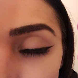 Winged eyeliner tutorial closed eye, 16th February 2016