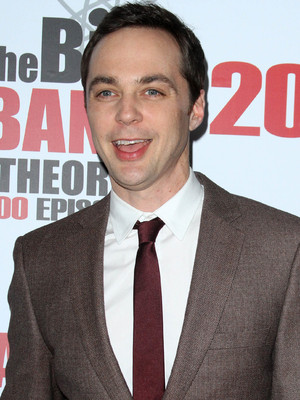 Jim Parsons attends The Big Bang Theory 200th episode party held at Vibiana, LA, 20 February 2016.