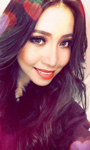 4th Impact singer Celina Cercado selfie. 31 January 2016.