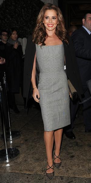 Cheryl Fernandez-Versini attends London Fashion Week Autumn/Winter 2016 - Gareth Pugh - 02/20/2016