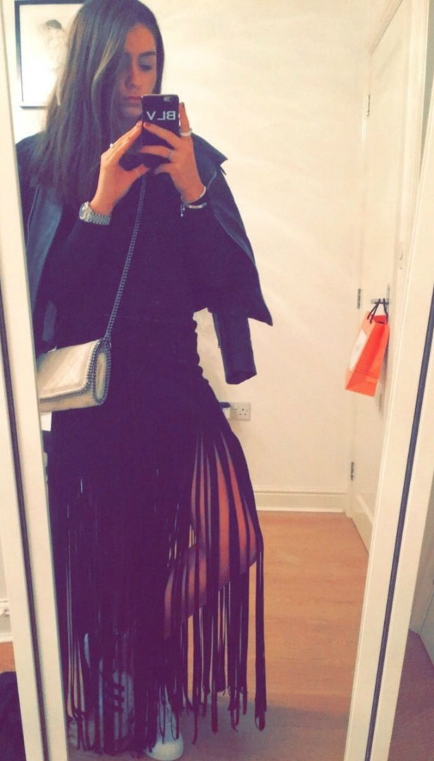 Brooke Vincent Blog: Brooke's outfit for mum's birthday lunch 18 February