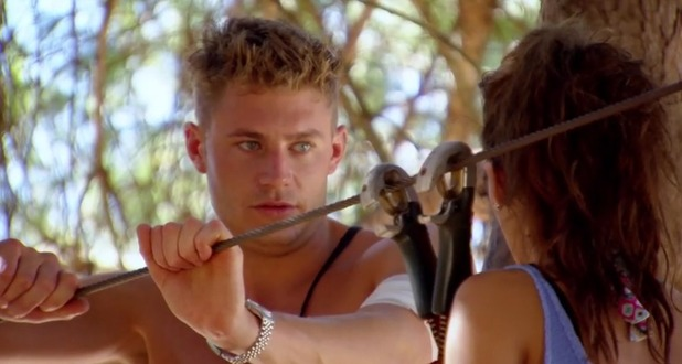 Ex On The Beach: Scotty T and Nancy on a date 16 February 2016