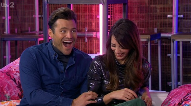 Take Me Out: The Gossip hosts Mark and Laura. 13 February 2016.