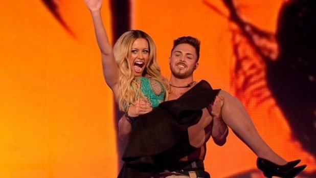 Ella and David on Take Me Out. 23 January 2016.