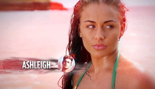 Ashleigh Defty arrives on Ex On The Beach January 2016