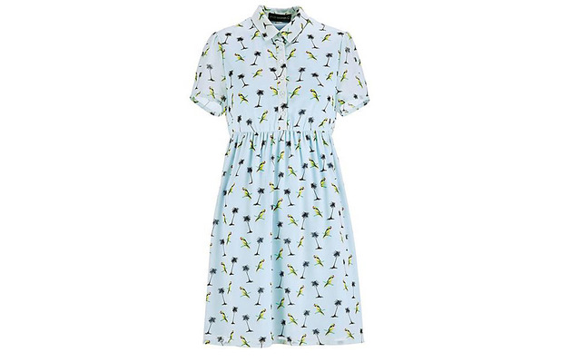 Printed dress by Stacey Solomon for Oli £45, 18th February 2016