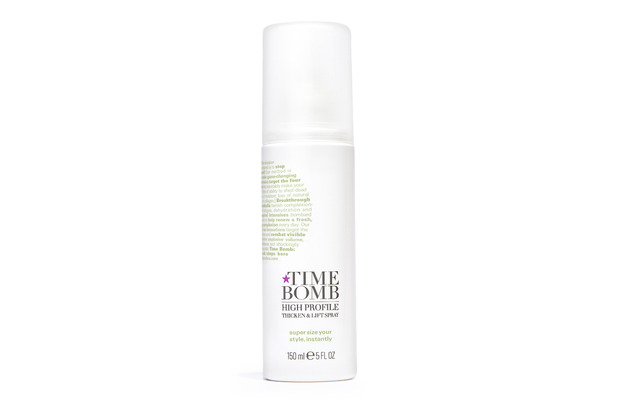 Time Bomb Thicken & Lift Spray £16.50, 15th February 2016
