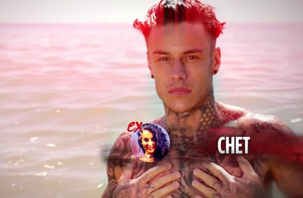Ex on the Beach: Helen's ex Chet arrives 16 Feb 2016