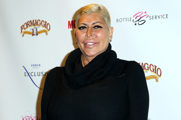 Big Ang attends Mob Wives 'The Last Stand' Season 6 Viewing Party at Funky Monkey Lounge on January 13, 2016 in Staten Island, New York.