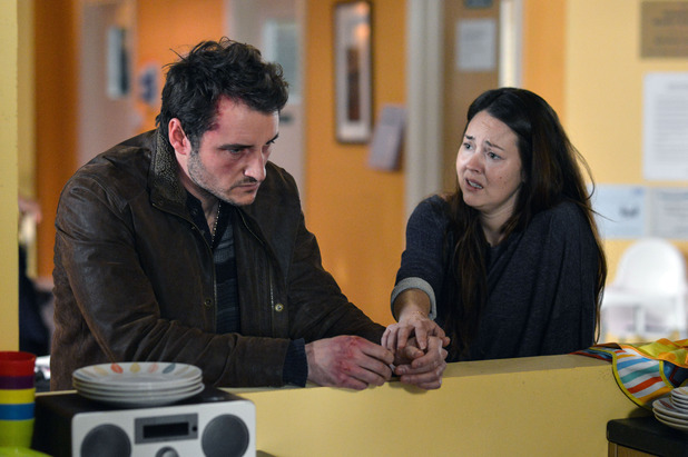 EastEnders, Martin confronts Stacey, Tue 23 Feb