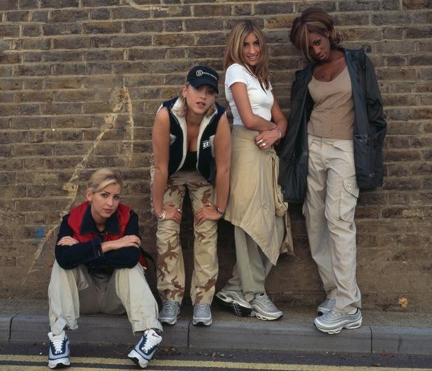 All Saints, circa 1997. Left to right: Natalie Appleton, Nicole Appleton, Melanie Blatt and Shaznay Lewis.
