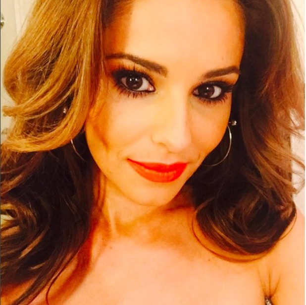 Cheryl Fernandez-Versini poses for stunning selfie during LFW, 20 February 2016.