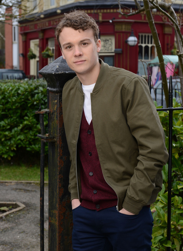 Ted Reilly joins EastEnders as Johnny Carter. 19 February 2016.