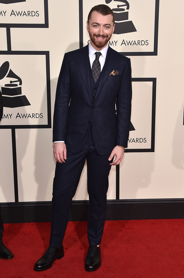 Sam Smith attends The 58th GRAMMY Awards at Staples Center on February 15, 2016 in Los Angeles, California.