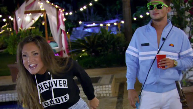 EX ON THE BEACH: MEGAN AND NAOMI ROW, SECURITY IS CALLED EPISODE 5, MTV